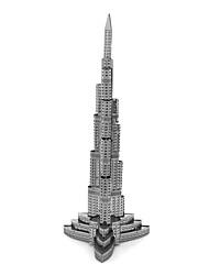 Недорогие -3D пазлы Металлические пазлы Фокусная игрушка Ручная работа Металл 1pcs Подставка Архитектура Игрушки Детские Взрослые Девочки Мальчики