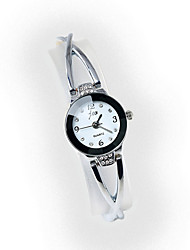 Недорогие -Жен. Часы-браслет Китайский Повседневные часы / Имитация Алмазный сплав Группа Мода Серебристый металл / Золотистый