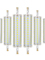 abordables -ywxlight® 6pcs r7s 8w 700-800lm led lumières de maïs 2835smd dimmable blanc chaud blanc froid naturel led ampoule led projecteur ac 85-265v