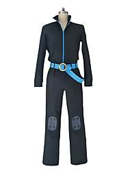 Недорогие -Вдохновлен One Piece Sanji Косплей Аниме Косплэй костюмы Косплей Костюмы другое Длинный рукав Кофты Брюки Перчатки Пояс на талию