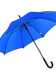 abordables -boy® Poliéster Hombre Soleado y lluvioso / A prueba de Viento / nuevo Paraguas Recto