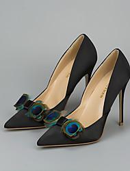 baratos -2pçs Pele Falsa Acessórios Decorativos Mulheres Todas as Estações Casamento Férias Azul