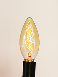 cheap -E14 25W C35 Burning Tip Of The Yellow Light 220V Edison Light Bulb Small Lo Lo Retro Retro Light Source