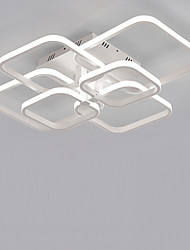 cheap -6-Head Square Modern Simplicity Led CeilingLamp Living Room Dining Room Bedroom Light Fixture