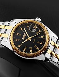Недорогие -SKMEI Жен. Для пары Кварцевый Нарядные часы Модные часы Повседневные часы Японский Календарь Защита от влаги Крупный циферблат