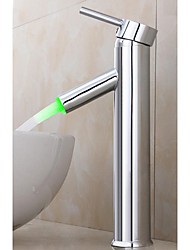 cheap -Contemporary Centerset Ceramic Valve Chrome, Bathroom Sink Faucet