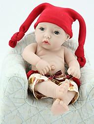 Недорогие -Куклы реборн Новый дизайн Дети Новорожденный как живой Милый стиль Полный силикон для тела Все Подарок
