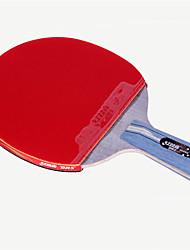 economico -DHS® R4006C 升级版 Ping-pong Racchette Legno Gomma da cancellare 4 Stelle Manopola corta Brufoli