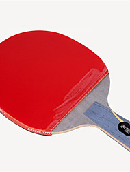 cheap -DHS® Hurricane HAO CS Ping Pang/Table Tennis Rackets Wooden Carbon Fiber Rubber Short Handle Pimples