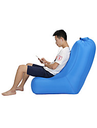 cheap -Air Sofa Lazy Sofa Inflatable Sofa Outdoor Waterproof Portable Lightweight Polyster POLY Home Furniture Camping Travel All Seasons