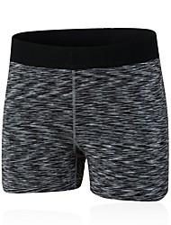 baratos -Mulheres Shorts de Corrida - Vermelho, Verde, Azul Esportes Sólido Shorts / Leggings Exercício e Atividade Física Roupas Esportivas Respirabilidade Com Stretch