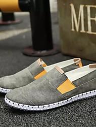 Недорогие -Муж. обувь Тюль Весна Лето Спортивная обувь Для пешеходного туризма Комбинация материалов для Серый Светло-серый Синий