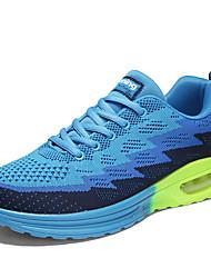 cheap -Men's Mesh Spring / Fall Comfort Athletic Shoes Basketball Shoes Dark Blue / Light Grey / Light Blue