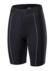 preiswerte -Damen Kurze enge Laufhosen Atmungsaktivität Shorts/Laufshorts Übung & Fitness Polyester Weiß Schwarz Blau Rot/Weiß Grau S M L XL XXL