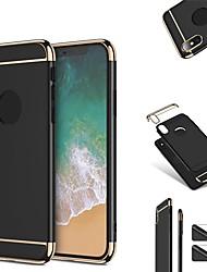 economico -Custodia Per Apple iPhone X iPhone 8 Resistente agli urti Ultra sottile Integrale Tinta unica Resistente Plastica per iPhone X iPhone 8