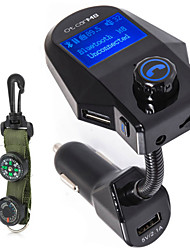 cheap -M8 Bluetooth Car Handsfree MP3 Audio Music Player 3.5mm AUX Receiver FM Transmitter Modulator 5V 3.1A Car Charger