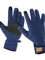 economico -Guanti sport Guanti touch Invernali Tenere al caldo Anti-scivolo Antivento Mitts Dita intere Guanto touch microfibra vello Sport vari