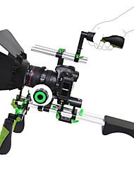 Недорогие -yelangu установка комплект DSLR комплект фильм плечевая буровой установки с последующей фокусировкой и матовой коробки и верхней ручкой