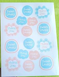 baratos -Outros Etiquetas, Etiquetas e tags - 16 Irregular Autocolantes Todas as Estações