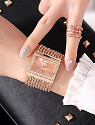 cheap -Women's Fashion Watch / Dress Watch Chinese Casual Watch Alloy Band Fashion Silver / Gold / Rose Gold