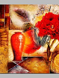 baratos -Pintura a Óleo Pintados à mão - Religioso Vintage Tela de pintura