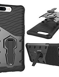 economico -Custodia Per OnePlus 5 Resistente agli urti Con supporto Rotazione a 360° Per retro Armatura Resistente PC per One Plus 5