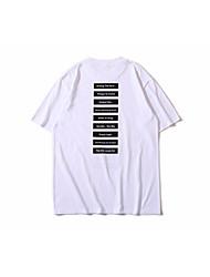 muška pamučna majica - slovo