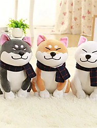 abordables -1PC Wear scarf Shiba Inu Chiens Animal Animaux en Peluche Confortable Exquis Adorable Cadeau 1pcs