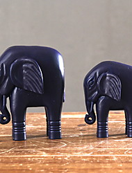 cheap -2pcs Wood European StyleforHome Decoration, Decorative Objects Gifts