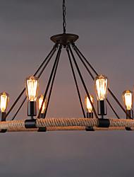 Недорогие -8-Light Подвесные лампы Торшер Окрашенные отделки Металл Мини 110-120Вольт / 220-240Вольт Лампочки не включены / E26 / E27