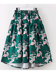 cheap -Kids Girls' Floral Skirt