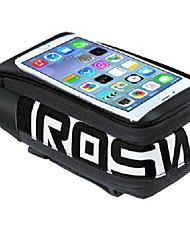 economico -ROSWHEEL Borsa da bici Marsupio triangolare da telaio bici Bag Cell Phone Anti-pioggia Indossabile Resistente agli urti Marsupio da bici