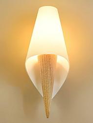 baratos -Antirreflexo Clássica Luminárias de parede Sala de Estar / Quarto Madeira / Bambu Luz de parede 220-240V 40W
