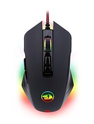 Недорогие -REDRAGON M715 Проводное Кабель Эргономичная мышь Игровой удобный DPI Регулируемая Подсветка 3D в мультяшном стиле 10000