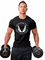 preiswerte -Herrn Buchstabe-Street Schick T-shirt