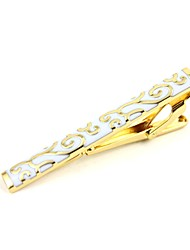 cheap -Yellow Tie Clips Bohemian European Party Gift Men's Costume Jewelry