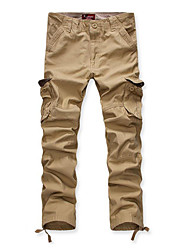 cheap -Men's Active Chinos Pants - Solid Colored Basic / Sports