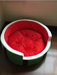 abordables -Chat Chien Couchages Animaux de Compagnie Tapis & Planches Fruit Portable Pliable Doux Pour les animaux domestiques