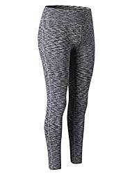 cheap -Women's Running Tights - Green, Blue, Red / White Sports Solid Colored Pants / Trousers / Leggings Exercise & Fitness Activewear Breathability Stretchy