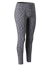 baratos -Mulheres Leggings de Corrida - Verde, Azul, Vermelho / Branco Esportes Sólido Calças / Leggings Exercício e Atividade Física Roupas Esportivas Respirabilidade Com Stretch