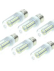 Недорогие -SENCART 6шт 4W 800-1200lm E14 / G9 / B22 LED лампы типа Корн T 36 Светодиодные бусины SMD 5730 Декоративная Тёплый белый / Белый 220-240V