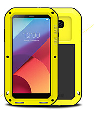 cheap -Case For LG G6 Shockproof Waterproof Full Body Cases Solid Color Hard Metal for LG G6