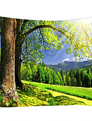 cheap -Garden Theme Landscape Wall Decor 100% Polyester Classic Modern Wall Art, Wall Tapestries of