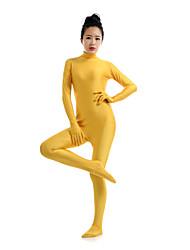 بدل زانتاي النينجا ملابس الزينتاي أزياء Cosplay ذهبي سادة ملابس الزينتاي سباندكس ليكرا للجنسين Halloween حفلة تنكرية