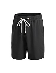 baratos -Homens Shorts de Corrida - Azul, Vermelho / Branco, Cinzento Esportes Sólido Shorts Exercício e Atividade Física Roupas Esportivas Respirabilidade Micro-Elástica
