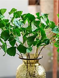 abordables -1 Une succursale Plastique Contact réel Plantes Arbre de Noël Fleurs artificielles