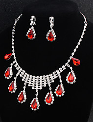 cheap -Women's Jewelry Set - Flower European, Fashion Include Red For Wedding / Daily