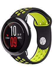 Недорогие -Ремешок для часов для Huami Amazfit A1602 Xiaomi Спортивный ремешок силиконовый Повязка на запястье