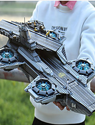 cheap -Helicarrier Building Blocks 3057pcs Super Heroes Focus Toy Exquisite Toy Aircraft Carrier Toy Gift