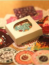 voordelige -Vintage Theme Stickers, Labels & Tags - 38 Cirkelvormig Square Shape Stickers Alle seizoenen